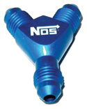 "NOS Fitting - Flared ""Y"" -4AN (use with extra bottle)"