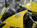 Mirror Block Off Plates - Yamaha R6 2006-2007