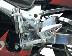 Electric Speed Shifter Kit - Suzuki GSXR 600/750 1996-2000
