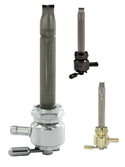 Hex or Round Power-Flo™ Single Outlet Reserve Fuel Valves