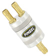 Inline SS Fuel Filter Satin 2 In 2 Out