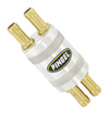 Inline SS Fuel Filter Satin 2 In 4 Out