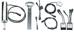 "Universal Electric Speed Shifter Kit -  1"" Handlebars - One to Four Coil"